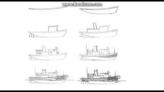 как рисовать транспорт