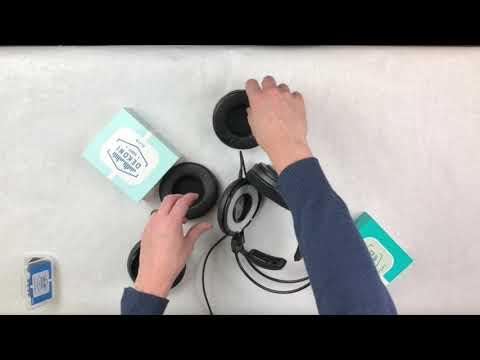 Dekoni Audio Technica ATH-AD900x AD Series Pad Swap Installation Video