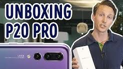 Huawei P20 Pro - unboxing ja testaus - Gigantti