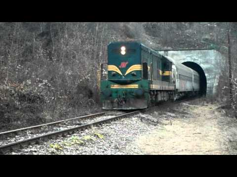 Train at Kosovo / Serbia Border