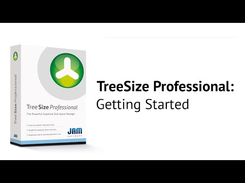 TreeSize Professional - Getting Started (English Version)