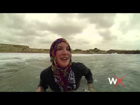 Easkey Britton is the First Woman to Surf Iran