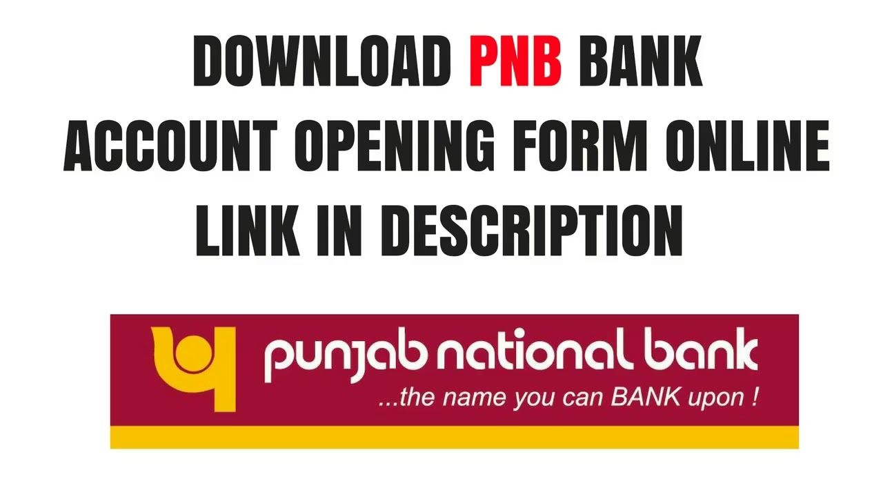 how to open a bank account in punjab national bank