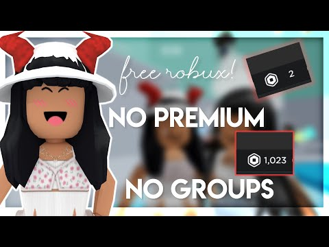 HOW TO EARN FREE ROBUX*no Premium*||2021