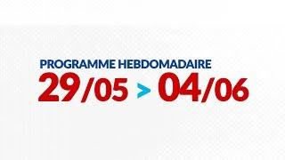 Programme de courses Equipe FDJ - Semaine du 29 mai au 4 juin