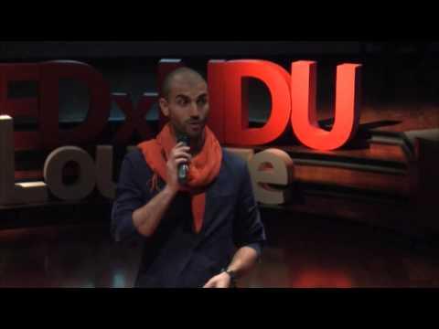 How yoga destroyed my life   Ayman Al-Khatib   TEDxNDULouaize