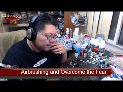 Airbrushes and compressors - The Hobby Room - Wyrd Forums