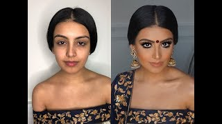 Indian | Bollywood | South Asian Bridal Makeup From Start To Finish @Blueroseartistry