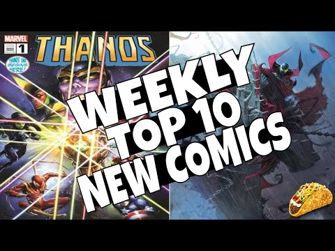HOT TOP 10 NEW COMICS TO BUY FOR APRIL 24th - NCBD WEEKLY PICKS FOR NEW COMIC BOOKS