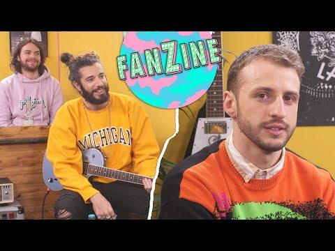 Youtube: Fanzine #8: Maxenss reprend Linkin Park, Abba, son premier texte… Avec Waxx et C.Cole #LeLive
