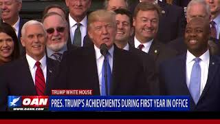 President Trump's Achievements During First Year in Office