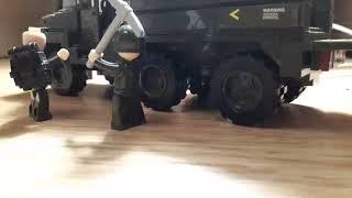 Лего мультфильм ! Про военных!