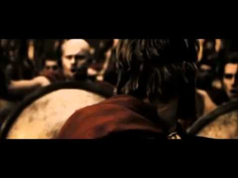 300 …….Dilios Makes A Rousing  Battle Speech Scene