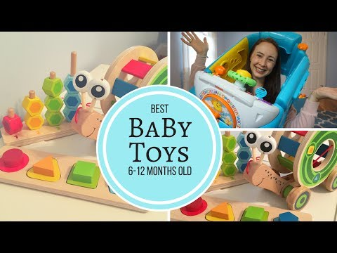 BEST BABY TOYS 6 - 12 MONTHS OLD! My Baby Boy's Favorite toys!