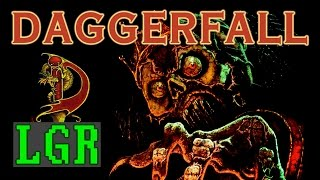 LGR - Elder Scrolls: Daggerfall - DOS PC Game Review