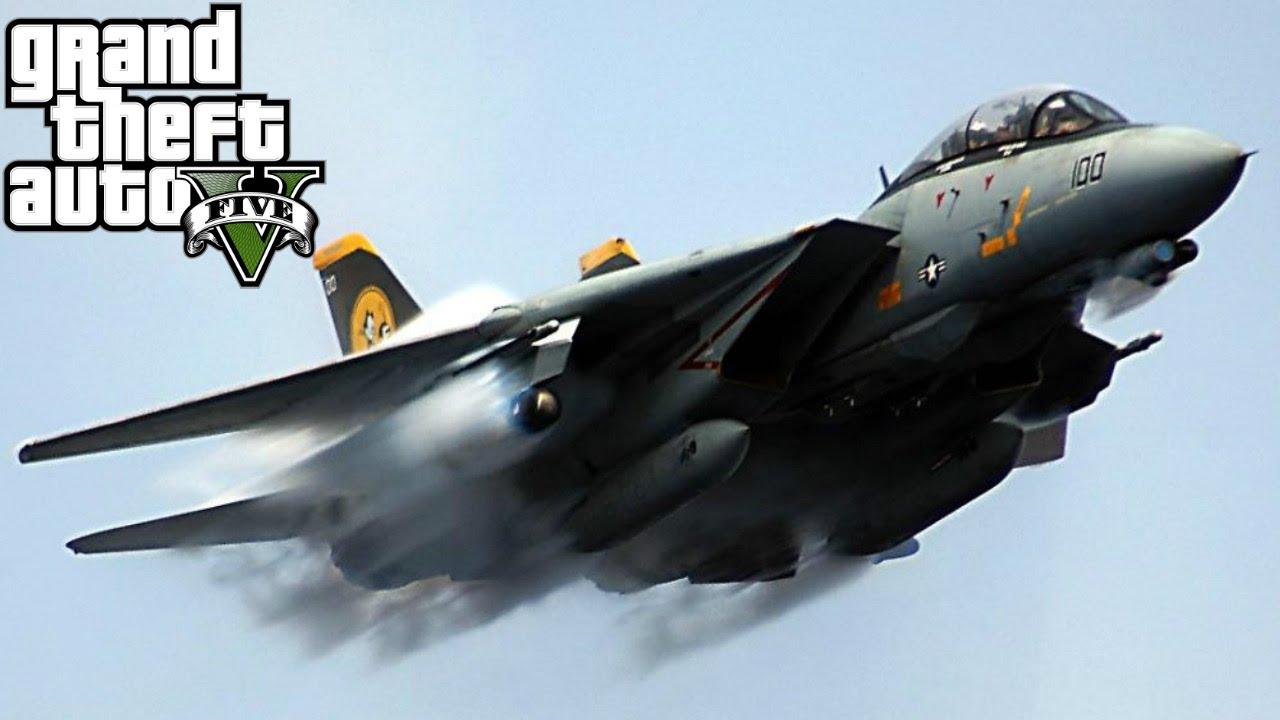 F 14 Super Tomcat GTA 5 MODS   Grumman F...