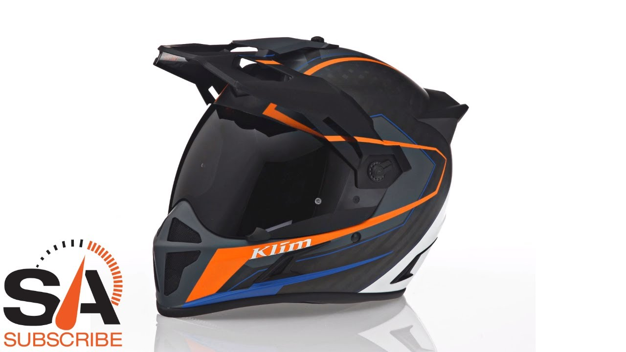 657c9c00 Klim Krios Karbon Vanquish Orange Helmet at SpeedAddicts.com - YouTube