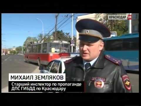 Автоинспекторы проверили на нарушения автобусы и маршрутки на дорогах Краснодара
