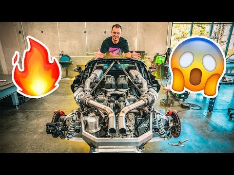 CRAZY HYPER CAR TURBO KIT