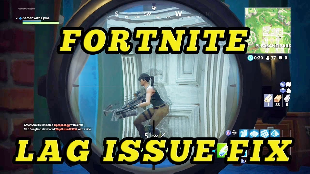 Fixing Fortnite Lag On XBox One