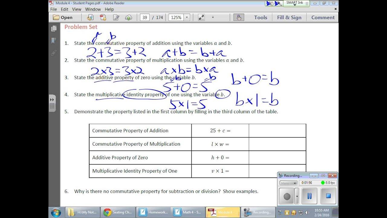 Grade 6 Module 4 Lesson 8