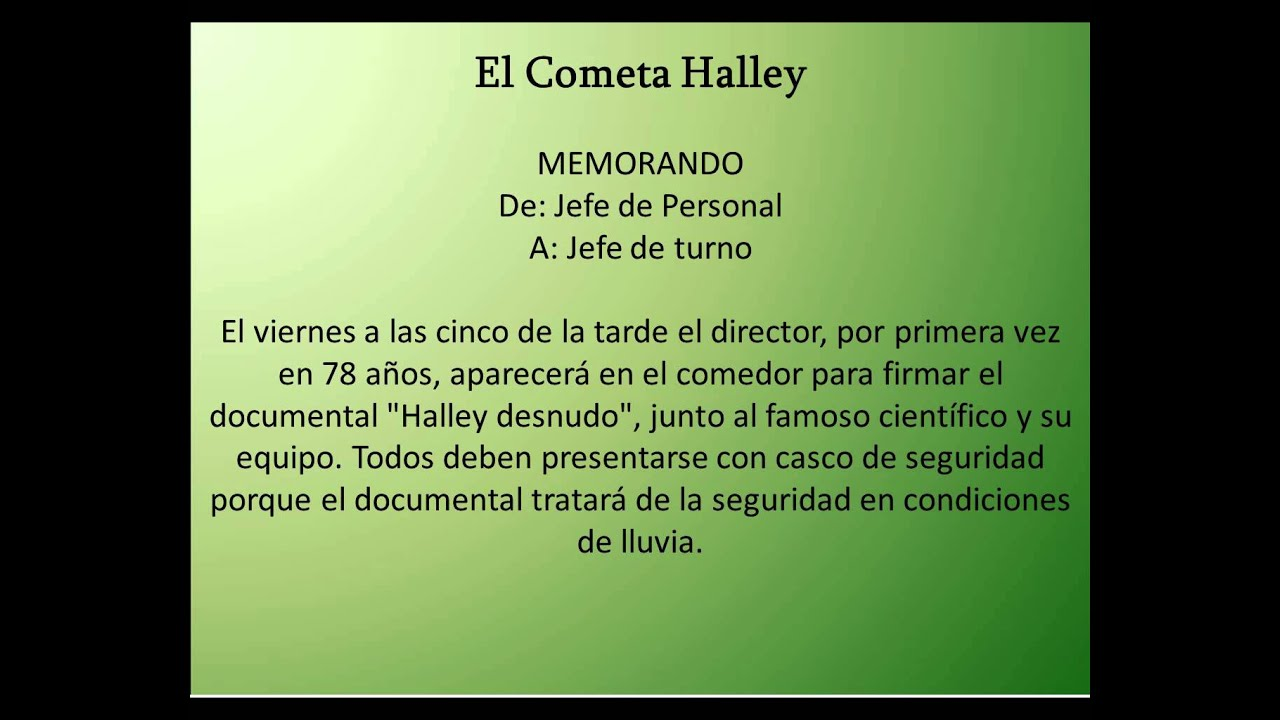 La culpa es de la vaca - El Cometa Halley - YouTube
