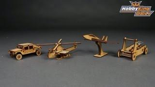 Hobbyking Daily - Laser Cut Wooden Model
