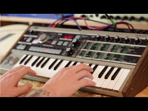 Korg MICROKORG factory reset - With Loop Control - YouTube