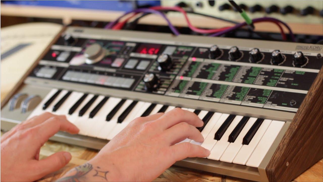 microKORG Patches - mK Rearranged Soundbank & Overlay
