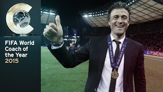 Luis enrique has won the coach of year award at fifa ballon d'or gala in kongresshaus, zurich on monday. it comes recognition an incredible...