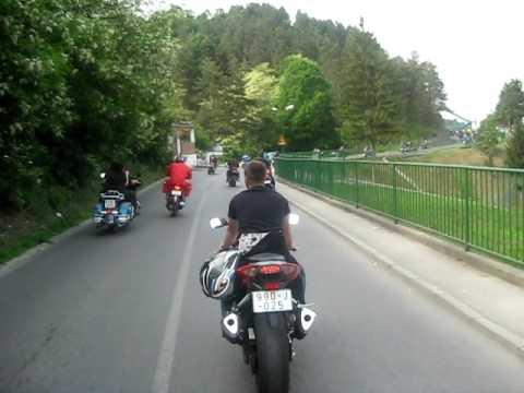Motorijada Lukavac 2009 Defile