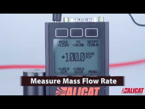Mass flow measurements with multivariate instrument