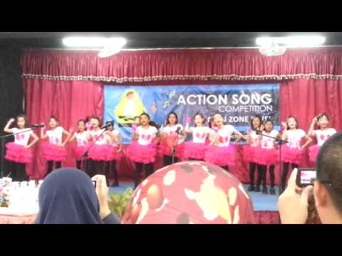 Competition English action song 2013