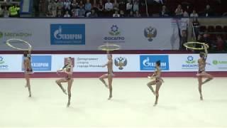 Team Russia - 3 hoops + 2x2 clubs AA GP Moscow 2019  23.45