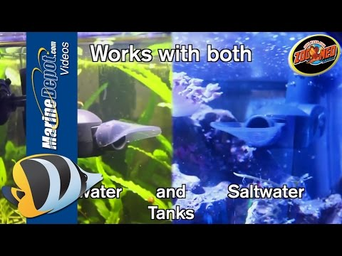 Zoo Med AquaSweep™ Rotating Filter Attachment - Product Overview