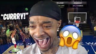 FlightReacts HITS a BUZZER BEATER with CURRY & goes INSANE! | NBA 2K20 MyTEAM