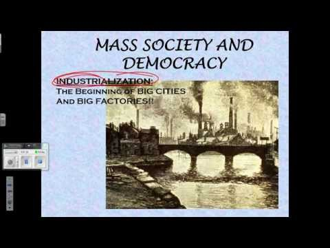Mass Society Notes December11 2014