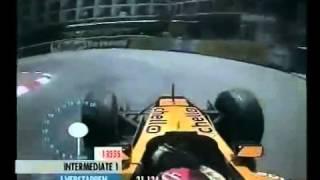 Formule 1 G.P Monaco 2001 Kwalificatie Jos Verstappen Onboard