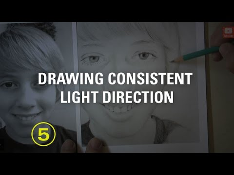 Drawing Consistent Light Direction — A Drawing Critique
