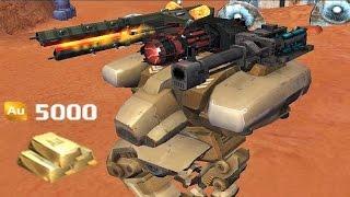 Walking War Robots Purchasing the Fury [5000 Gold] and Gameplay thumbnail