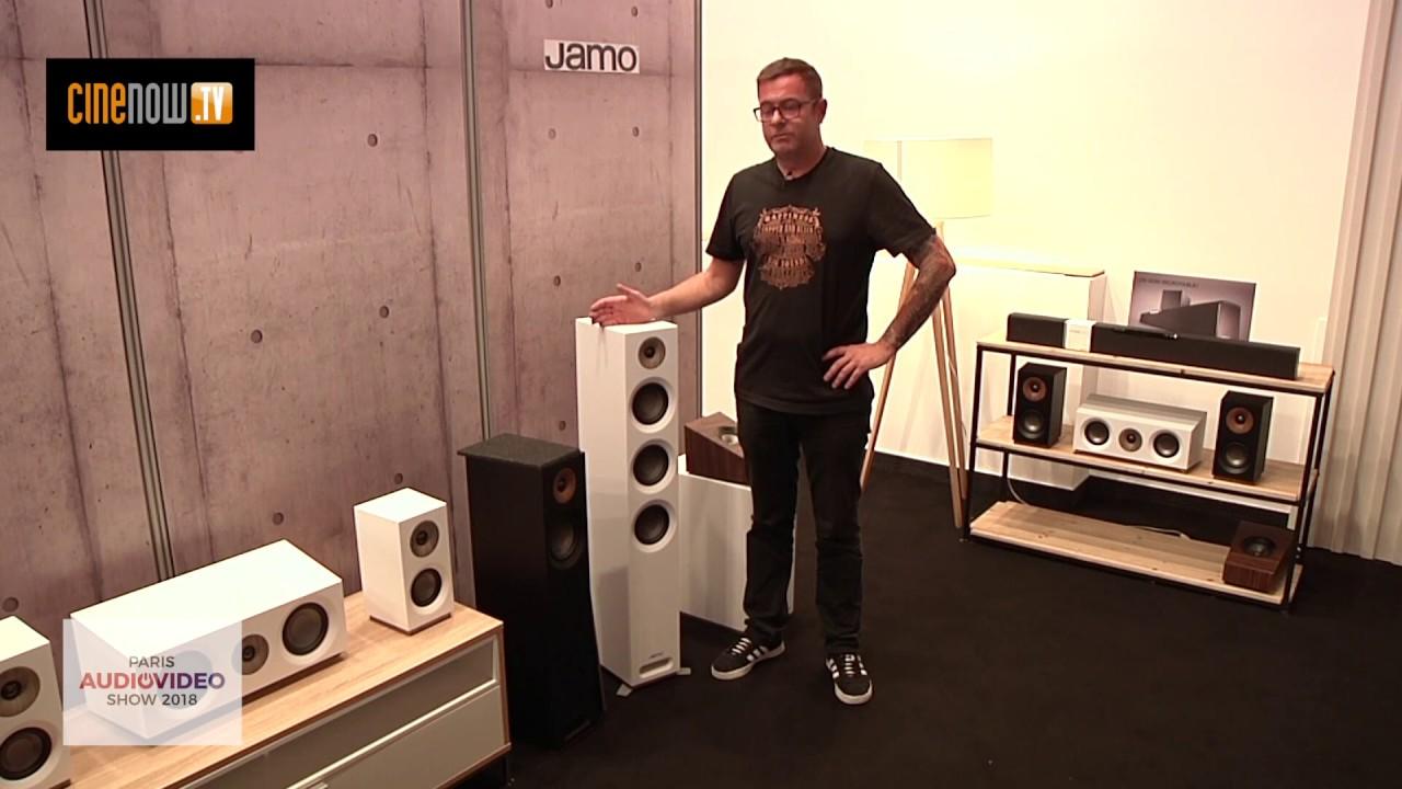 Jamo S 809 HCS & S 8 ATM (Paris Audio Vidéo Show 2018)