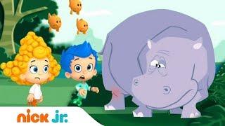 Гуппи и пузырики | Большая горилла | Nick Jr. Россия