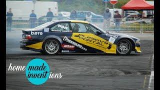 Drift race CDS GYMKHANA Olomouc 2018 - 595 Jan Konečný BMW E36 GTR