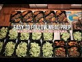 Meal Prepping For The Week - 25 Meals - New Recipe!