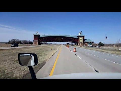 BigRigTravels LIVE! Grand Island to North Platte, Nebraska Interstate 80 West-April 4, 2018