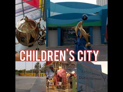 WONDERLAND & AMAZING THEME CREEK PARK|| CHILDREN'S CITY DUBAI
