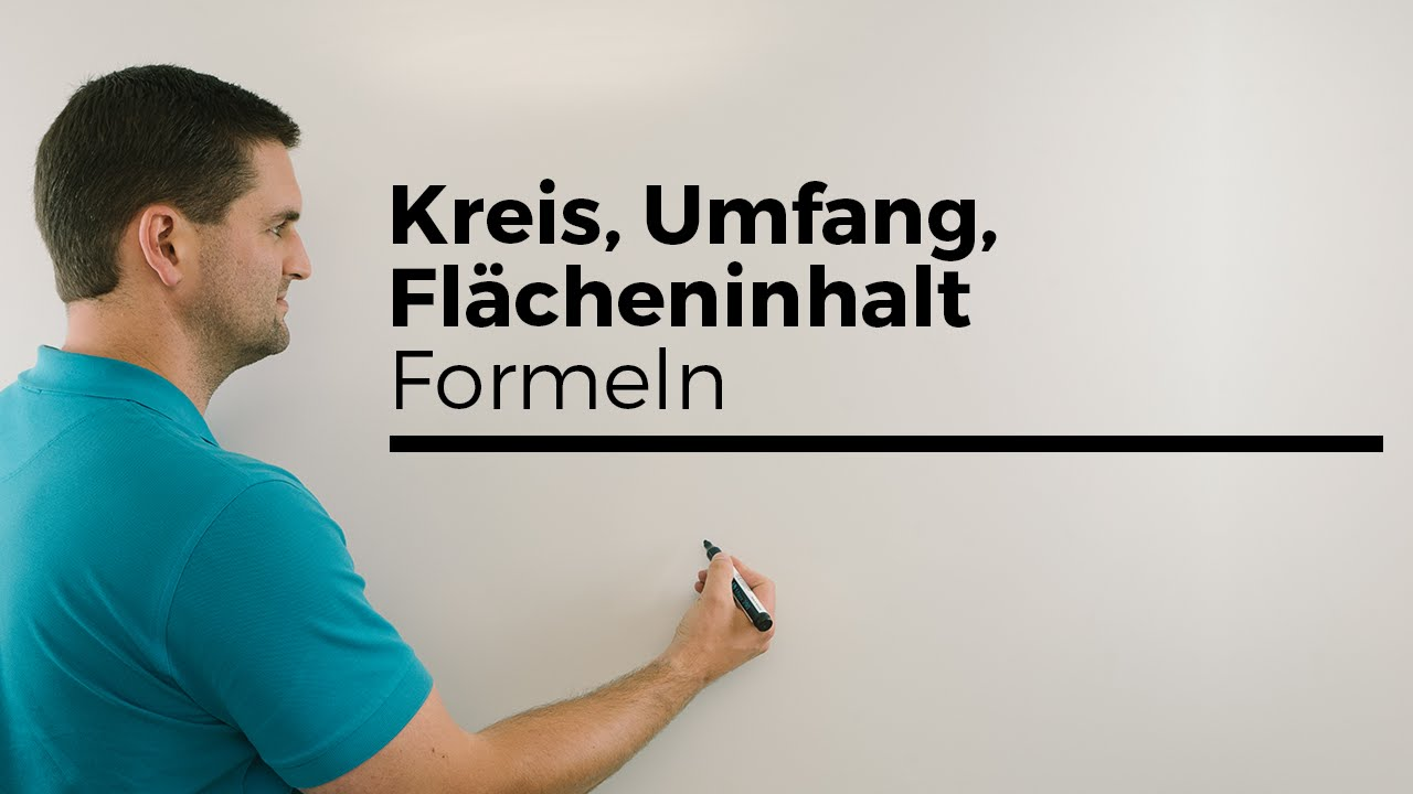 kreis umfang fl cheninhalt formeln hilfe in mathe einfach erkl rt mathe by daniel jung. Black Bedroom Furniture Sets. Home Design Ideas