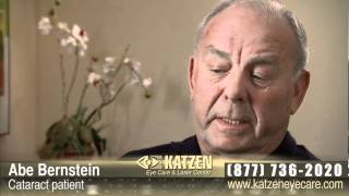 Katzen Eye Care Testimonials - Abe Bernstein - Cost Vs Value