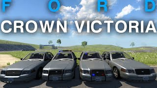 BeamNG | Ford Crown Victoria