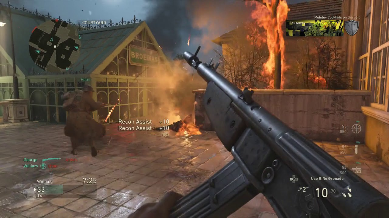 Call Of Duty WWII Market Garden Gameplay - YouTube